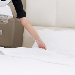 Renting de sábanas, toallas, manteles para empresas.