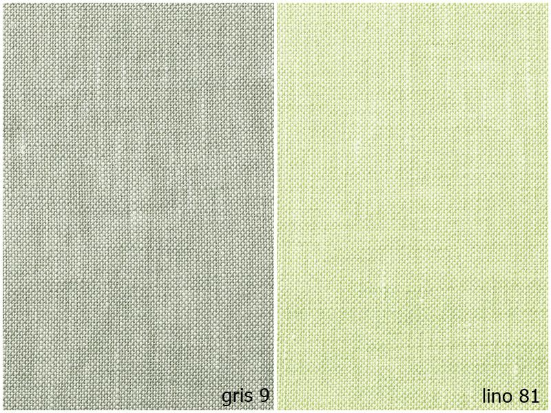 Natural Fiber gris 9 y lino 81